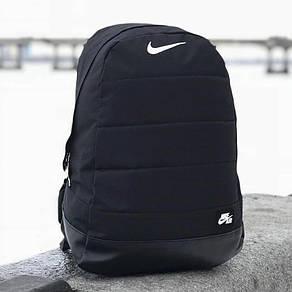 Городской,спортивный рюкзак Nike Air 20л - Черный - Реплика