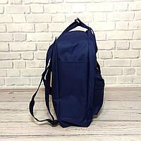 Модний рюкзак, сумка Fjallraven Kanken Classic, канкен класік. Темно-синій + органайзер в подарунок!, фото 5