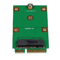 Переходник Адаптер mSATA Mini PCI-E -> to NGFF M.2 B Key SATA-Based