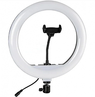Кольцевая лампа LED для селфи, визажистов, парикмахеров, диаметром 32 см