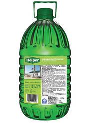 Средство для ручного мытья посуды кухонных повехностей с ароматом яблока 4.95л концентрат ТМ Helper