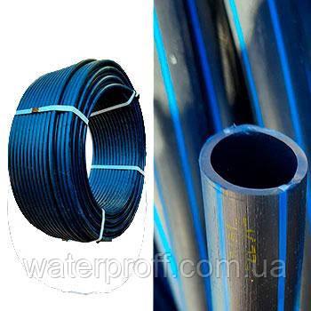 Труба ПЭ-80 Standart черная 40 PN10 Veco