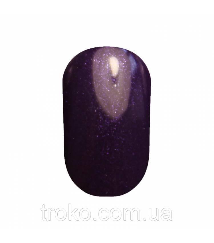 Гель-лак Oxxi №044 темный фиолетовый с блеском 10 мл