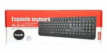 Клавиатура проводная HAVIT HV-378, USB, black