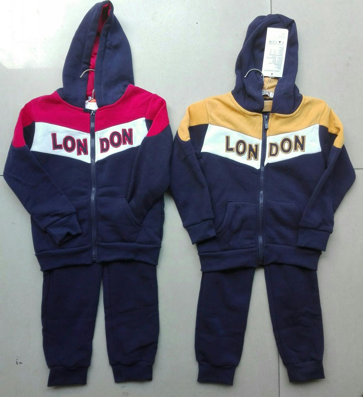 {есть:2 года} Трикотажный костюм - двойка утепленный для мальчиков Cross Fire, 1-5 лет. Артикул: 411 [2 года]
