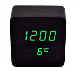 Настольные Электронные Часы LED Wooden Clock VST 872