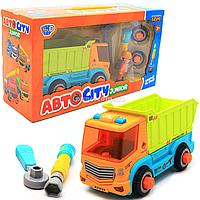 Конструктор Limo Toy Авто City Самовал музыкальный на батарейках (KB 034)