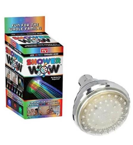 Насадка Для Душа С LED Подсветкой Shower Wow новинка