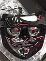 Неоновая Маска Судная Ночь Led Mask Светящаяся Маска, фото 3
