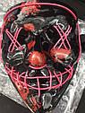 Неоновая Маска Судная Ночь Led Mask Светящаяся Маска, фото 7
