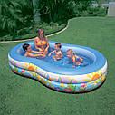 Бассейн Детский Надувной Райская Лагуна Intex 56490 262x160 см sale, фото 3