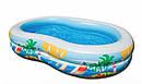 Бассейн Детский Надувной Райская Лагуна Intex 56490 262x160 см sale, фото 4
