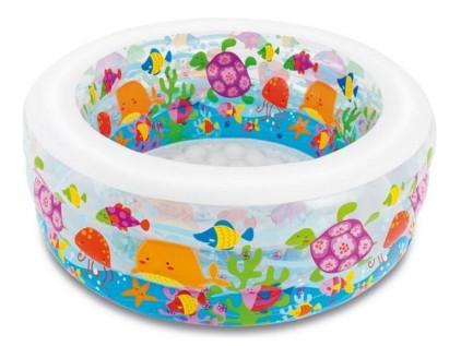 Детский Надувной Бассейн Intex 58480 Аквариум 152х56 см sale