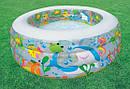 Детский Надувной Бассейн Intex 58480 Аквариум 152х56 см sale, фото 6