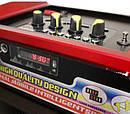 Колонка С Радиомикрофоном Бумбокс NS-1389BT Радио Аккумулятор Bluetooth sale, фото 3