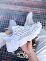 Кроссовки Adidas Ozweego Адидас Озвиго бежевые мужские и женские