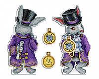 """""""Чудесный кролик"""" М.П. Студия. Набор для вышивки крестом (Р-347)"""