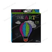 """Набор для картины из ниток  """"STRING ART"""" воздушный шар"""