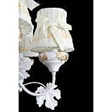 Люстра с абажуром подвесная в стиле прованс для спальни Splendid-Ray 30-3436-32, фото 2