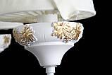 Люстра с абажуром подвесная в стиле прованс для спальни Splendid-Ray 30-3436-32, фото 3