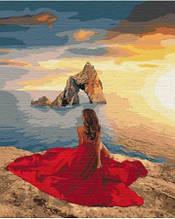Картина по номерам Раскошный закат