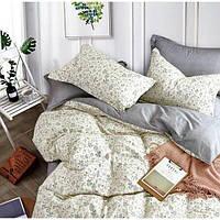 Комплект постельного белья Евро 200Х220 Сатин Хлопок 100% VIP TLG 19002 Love You