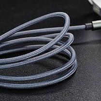 Кабель Hoco UPA03 Aux Noble Sound Cable 1m Grey, фото 3
