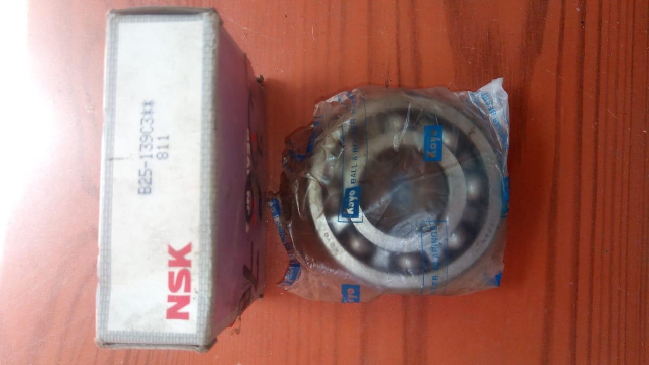 Подшипник первичного вала NSK B25139C3, MD706495 (НОВЫЙ) 992336 Galant 93-96 r.  5k Mitsubishi