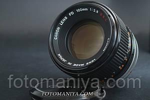Canon FD 100mm f2.8 S.S.C