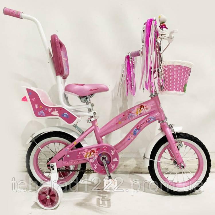 """Детский велосипед PrincessRueda 12"""""""