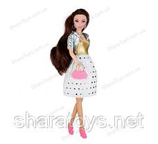 Кукла Ася брюнетка сияющий бриллиант