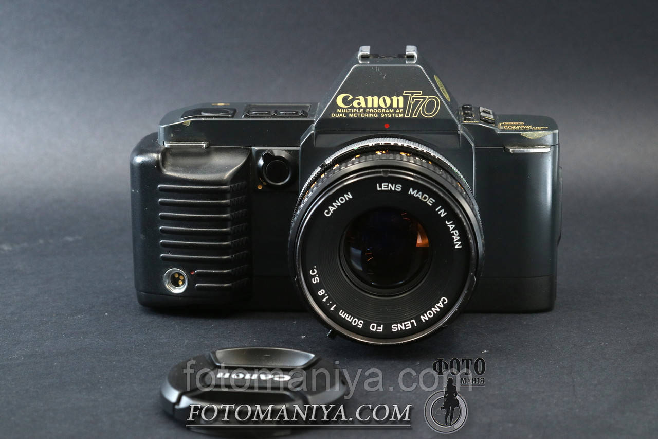 Canon T70 kit Canon FD 50mm f1.8 S. C.