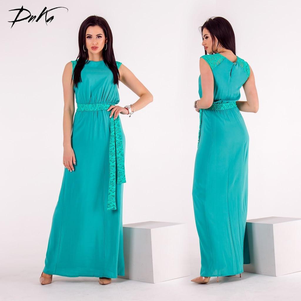 Вечернее легкое платье