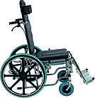 Инвалидная коляска многофункциональная с санитарным оснащением Golfi-4 Ортопедическая подушка для коляски в ПОДАРОК., фото 3