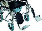 Инвалидная коляска многофункциональная с санитарным оснащением Golfi-4 Ортопедическая подушка для коляски в ПОДАРОК., фото 4