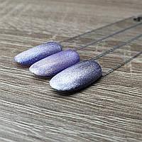 Хрустальный гель лак для ногтей кошачий глаз №8 фиолетовый