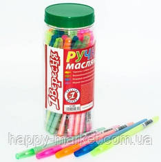 """Ручка шариковая """"1 Вересня"""" 411080 (синяя)"""