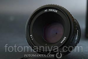 AF Nikkor 50mm f1,8 (Made in Japan)