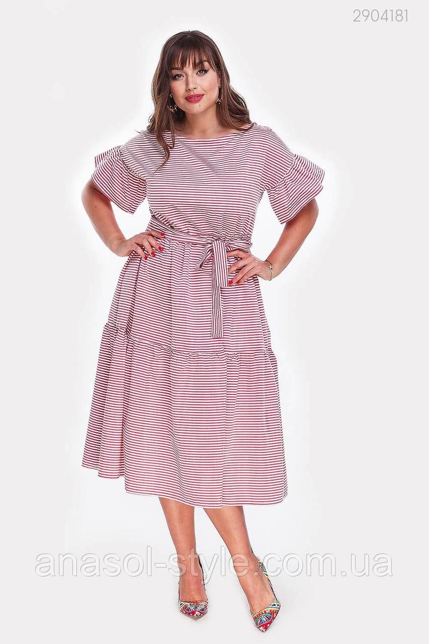 Платье Майорка (бордовый) 2904181