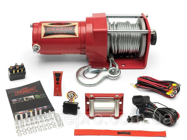 Электрическая лебедка Dragon Winch Maverick 2500ST (официальная гарантия)