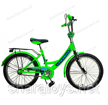 "Велосипед детский 12"" Like2bike RALLY зеленый"