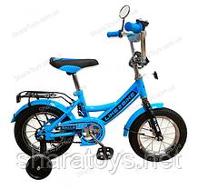 """Велосипед 12"""" голубой LIKE2BIKE RALLY"""