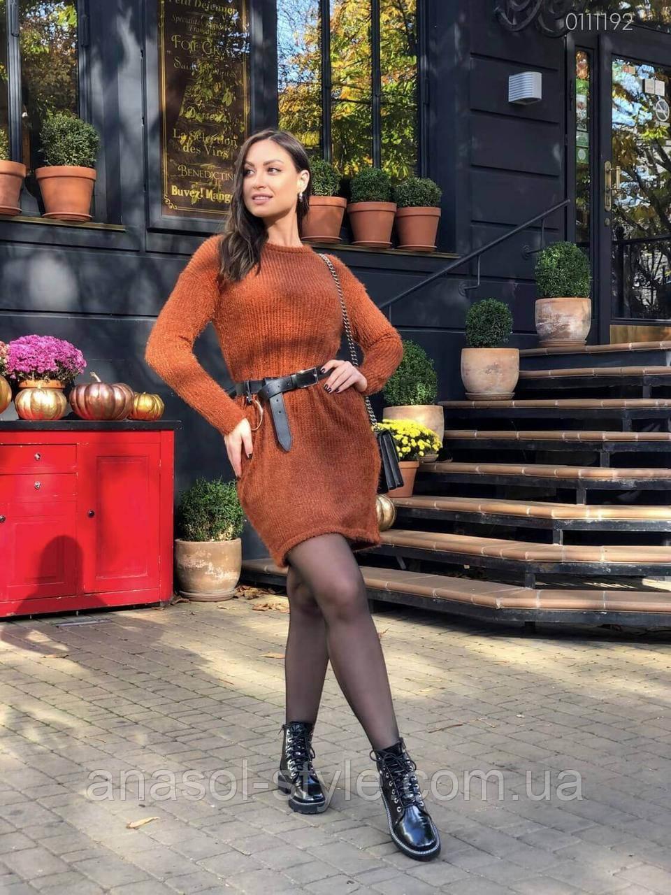Платье Бангалор (терракотовый) 0111192