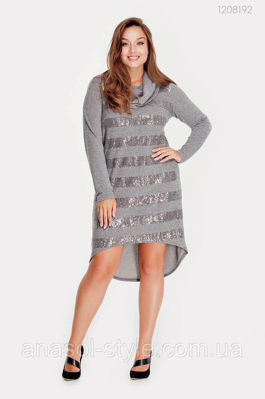 Платье Эвора (серый) 1208192