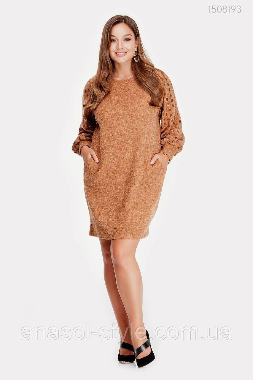 Платье Лороза (охра) 1508193