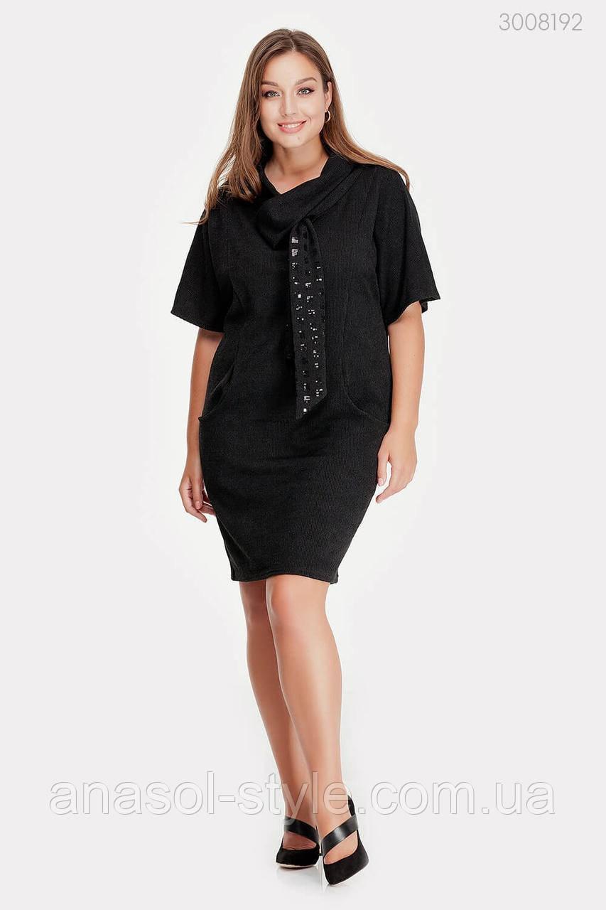 Платье Манаус (чёрный) 3008192