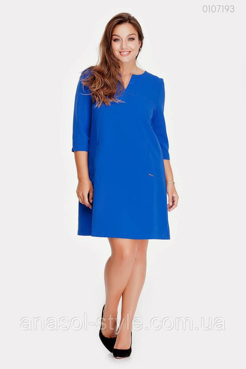 Платье Касабланка - 1 (электрик) 0107193