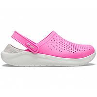 Летние кроксы Crocs LiteRide™ Clog розовые 36 р., фото 1
