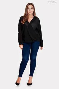 Блузка Анталия (чёрный) 2906194