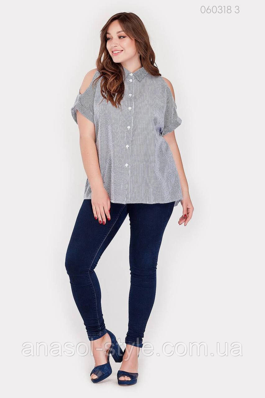 Жіноча сорочка Сардинія 1 (сірий) 060318�3